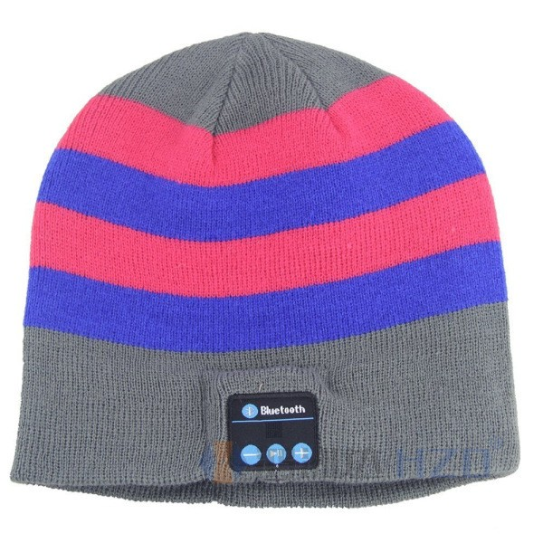 Wireless bluetooth Smart Caps Headset Warm Beanies Winter <strong>Hat</strong> with Speaker Mic for Sports Music <strong>Hat</strong> Earphone ST-677
