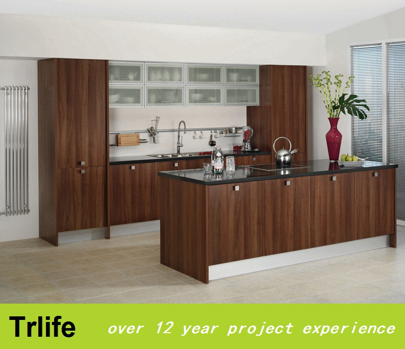 Trlife kitchen designs modern small sink kitchen cabient factory direct sale