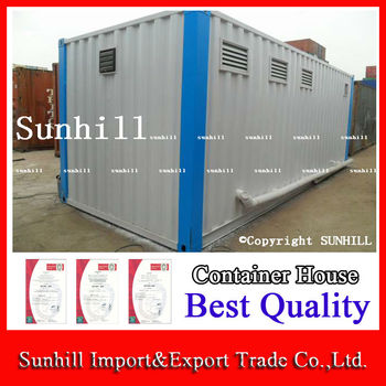 Happy new year modified shipping container public toilet for Shipping container public bathroom