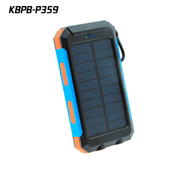 Newest design ip68 Waterproof powerbank 10000mah <strong>solar</strong> with compass