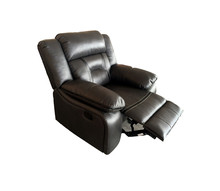Living Room Furniture Type and Modern Appearance convertible recliner leather sofa