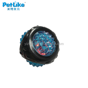 Interactive Popular dog toy ball led pet ball