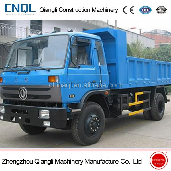 Dongfeng 10T Right Hand Drive Tipper Truck Capacity