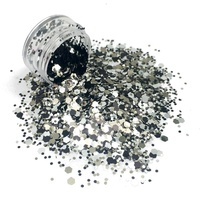 Eco Friendly Acrylic Hexagon Bulk Craft Nail Glitter Powder