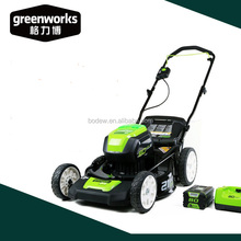 Greenworks 40V 80V 82V electric lawn mower portable lawn mower with 21 inch steel deck