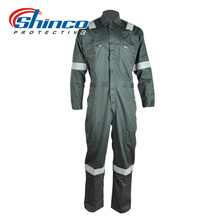 Permanent protect fr aramid flight suit