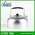 Outdoor camping 1.0 liter disposable aluminum pot