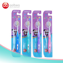 Oral cleaning toothbrush soft bristle travel office toothbrush for baby