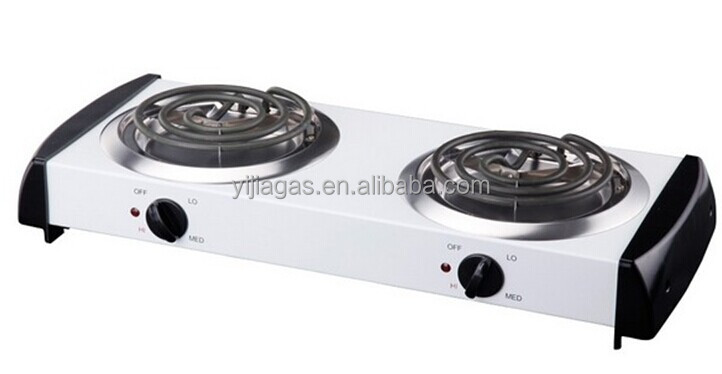 2 burner camping electric stove made in foshan
