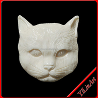 Small Stone Cat Animal Carving(YL-D184)