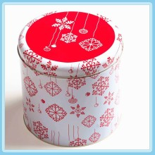 tin box metal tin cans round gift cookie tin box