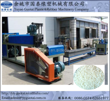 Hot Cutting Plastic Flakes Recycling Pelletizing Machine