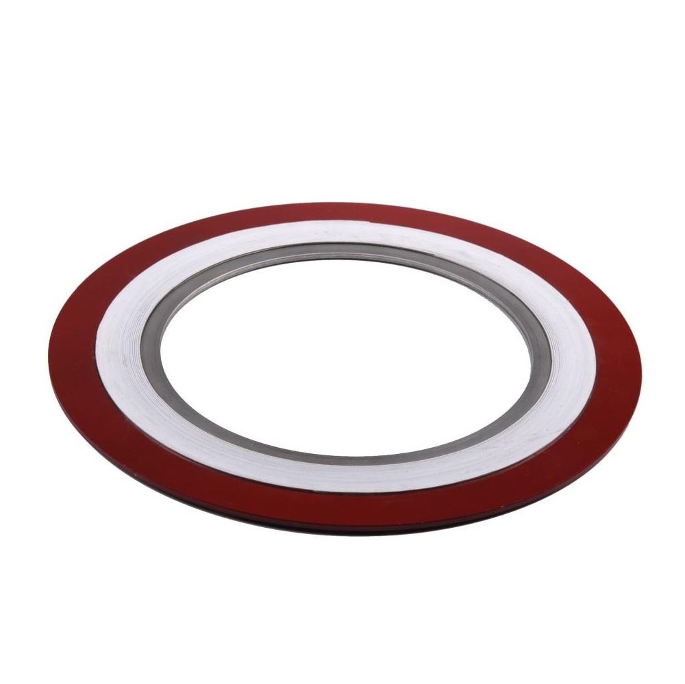 V/W type gasket ss304L PTFE with inner and outer metal ring made in China