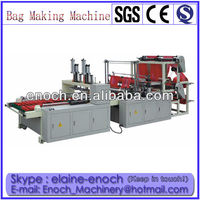 Four line Full Automatic Cold Cut type Plastic Shopping Bag Machine