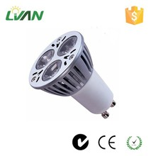 CE certified 3 years warranty factory price 3w-5w aluminum mr16 Gu10 led spot light led spotlight