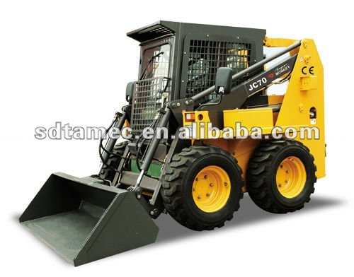 JC70X racoon skid steer loader,china bobcat,engine power 80hp,loading capacity 1000kg