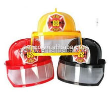 Mini firefighter helmet plastic children helmet for sale