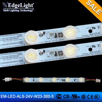 Aluminum board lateral led strip 5pcs 24V led strip lights