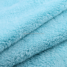 100% Polyester sherpa fleece fabric, faux shearling fabric