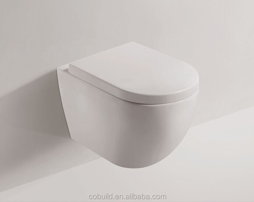 New product 2017 competitive toilet prices washdown wall hung toilet bowl