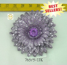 2012 GERBERA W/SILVER DOT CLIP ON