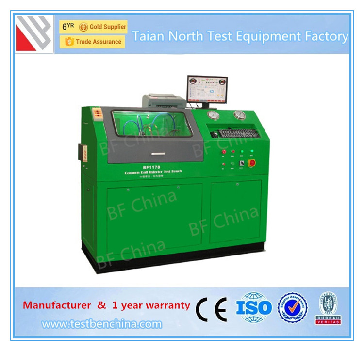 Common rail fuel pump maintenance test & measurement equipment
