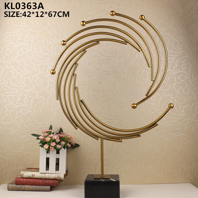 Modern Home Decoration Pieces Metal Art Sculpture With Marble Base. List Manufacturers of Decoration Pieces  Buy Decoration Pieces