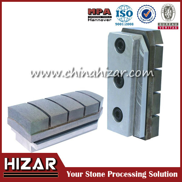 Slide-on Diamond Bond Grinding and Polishing Blocks