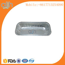 Top quality rigid aluminum foil 3 lbs loaf container