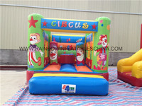 Clown Inflatable Jumping Castle, Circus Clown Playing Castle Inflatable Bouncer,Inflatable Combo Inflatable Toy