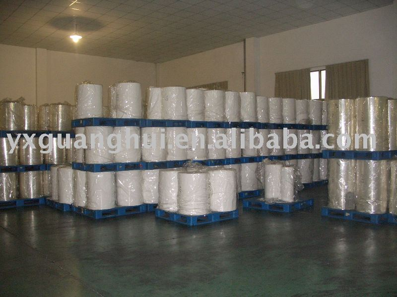 White PVC Shrink Film for Label Application