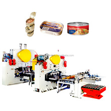 CNC Production Line For Two Piece Canned Food Tin Can Container Making