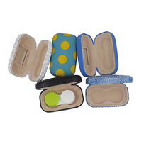 Factory promotion eyewear accessories custom cheap wholesale contact lens case