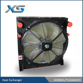 package cooler for Dynapac paver,side by side CAC/OC/RAD with fan