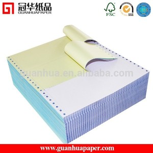 ISO9001 proved computer carbonless continous printing paper