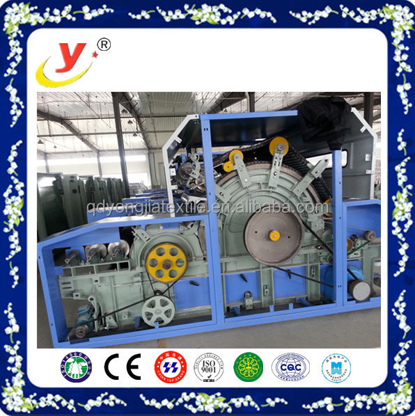 Perfect after-sales blow room spinning/cotton opening machine/single -cylinder doule-doffer carding machine