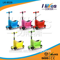 3 wheel trix suitcase scooter with roof for sale
