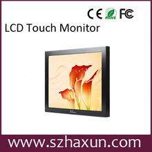 "15"",17"" lcd touchscreen monitor build in computer,Fanless industrial panel pc with WIFI,4*USB2.0,3*RS232,HDMI 1080P,D2550 AIO"