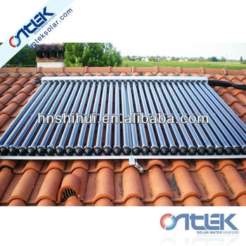 solar collectors in solar water heaters, solar water collectors