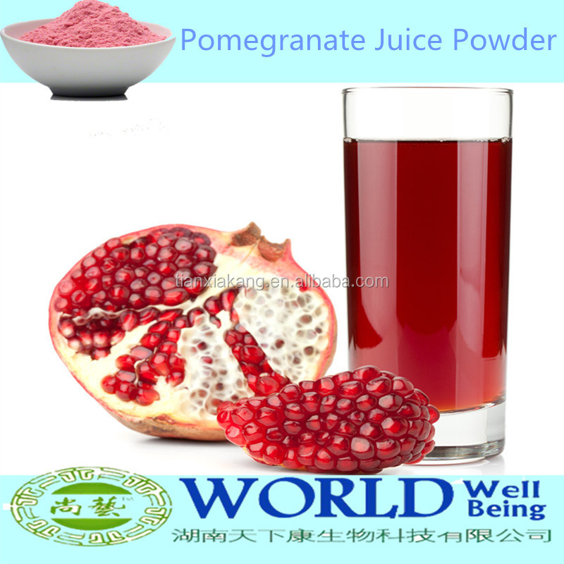 100% Natural China Manufacturer Pure Pomegranate Powder,Pomegranate Juice Concentrate,Low Price Pomegranate Juice Powder