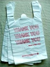 HDPE/LDPE thank you t-thirt bags
