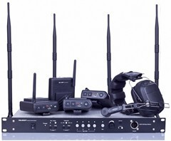 MDS-400 4 channel Full Duplex Wireless talk back system