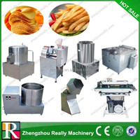 Small scale industrial potato chips production line potato flakes production line