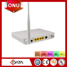 FTTH wifi fiber optic modem EPON ONU wireless cpe with 4 Ethernet and RF Port