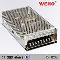 High quality 120w ac-dc dual output power supply