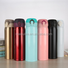 Custom outdoor metal thermos stainless steel double wall insulated thermal mug/ metal tea thermo cup