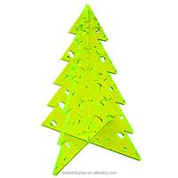 Custom High Quality acrylic christmas tree ornament, giant christmas tree