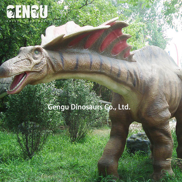 Amusement theme park decoration artificial dinosaur for Sale