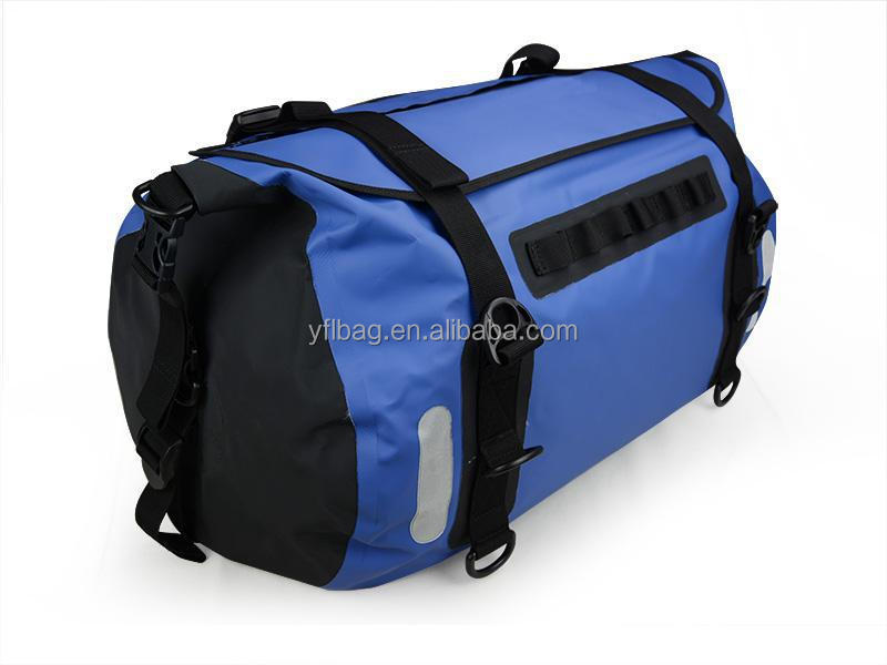Sealock 60L PVC waterproof duffel bag rolling travel bag foldable weekend bag