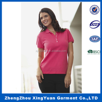2016 Best-seller Products women short Sleeve Polo T-shirt